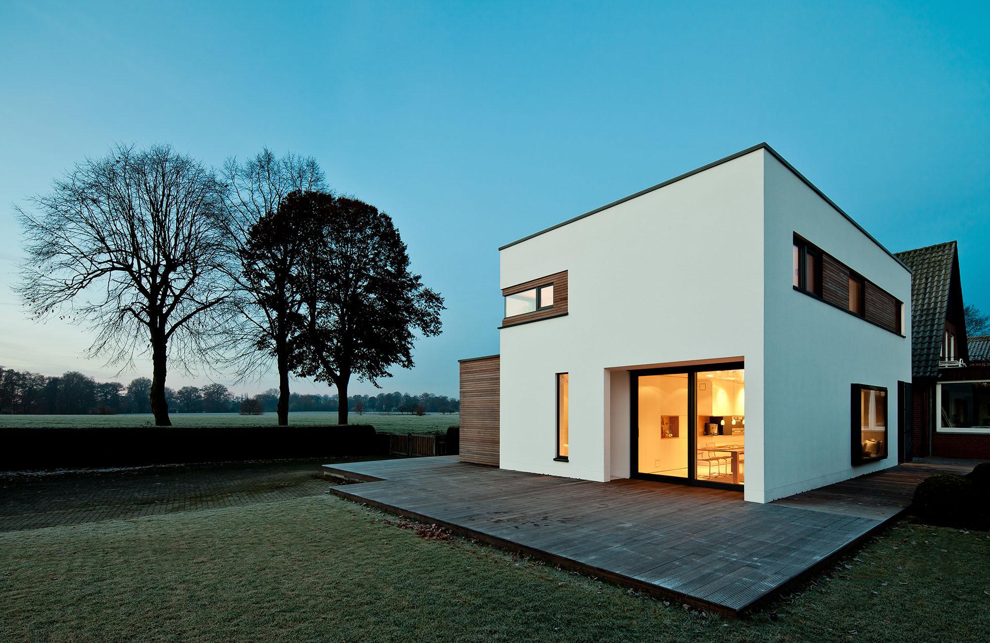 neubau haus architekt und handwerk m nster raumfabrik. Black Bedroom Furniture Sets. Home Design Ideas