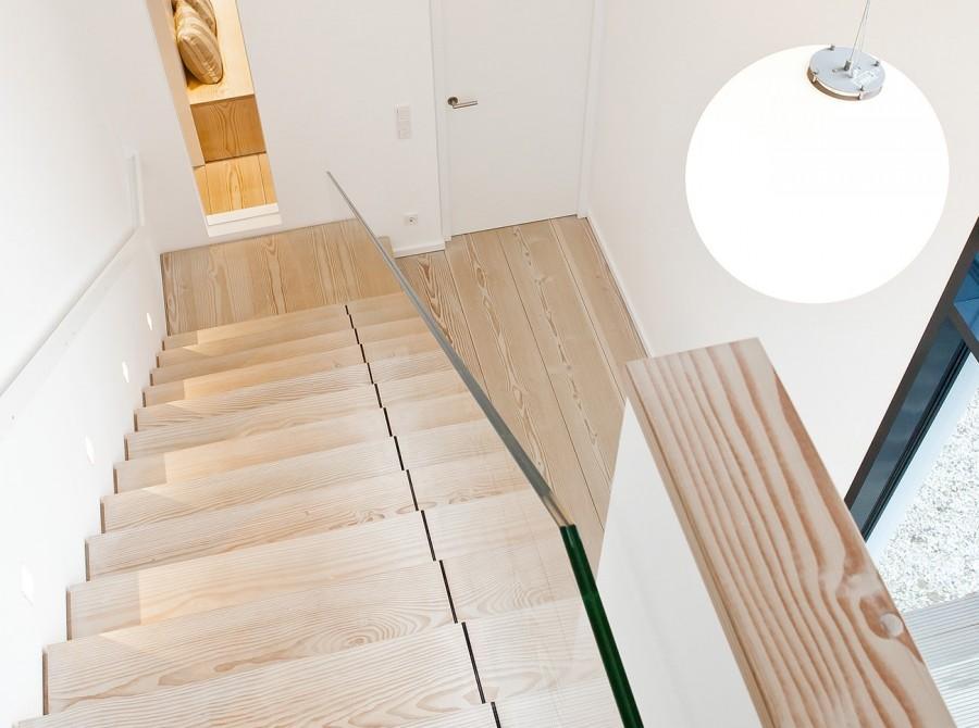 Neubau Haus Münster Treppe