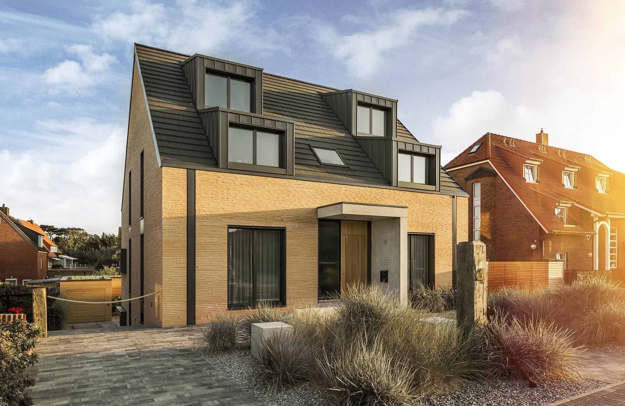 neubau eines hauses in erster k stenlinie auf norderney raumfabrik. Black Bedroom Furniture Sets. Home Design Ideas