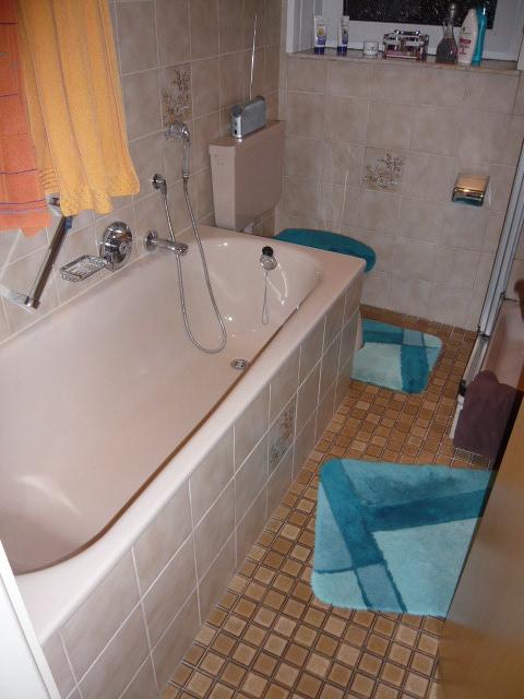 Badezimmer renovieren Münster vorher