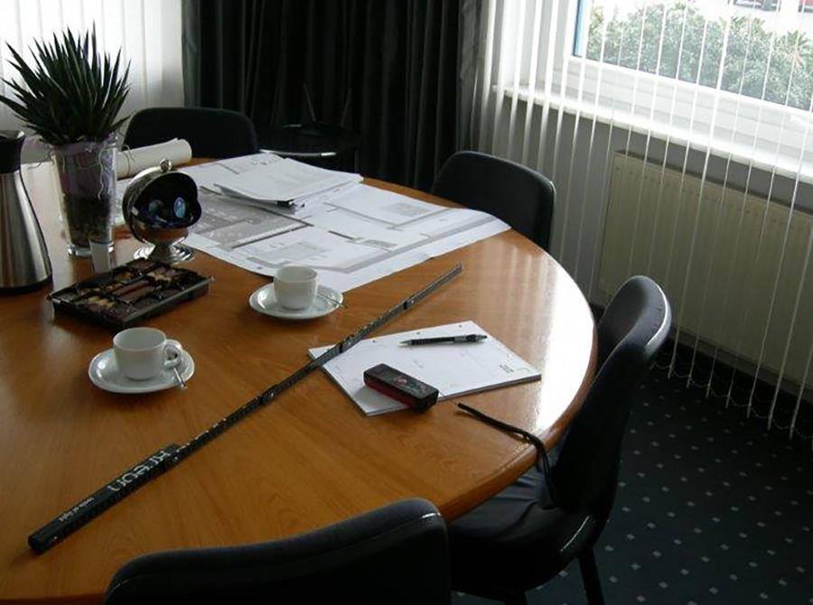 Umbau Büro Osnabrück vorher