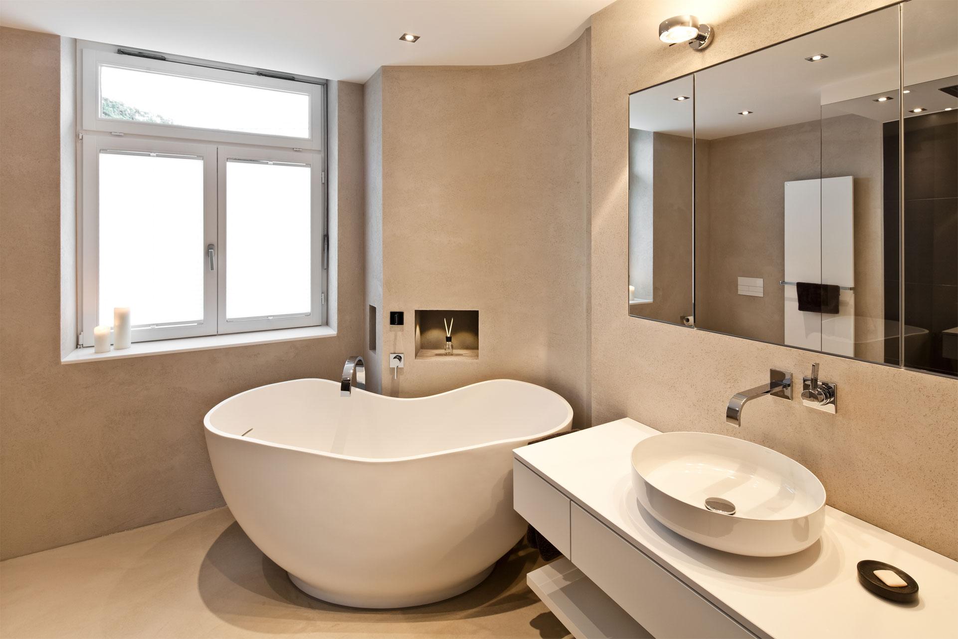 Bezaubernd Badezimmer Badewanne Sammlung Von Gemütliches Mit Freistehender