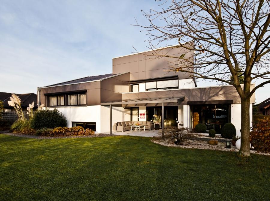 Sanierung Haus Fassade
