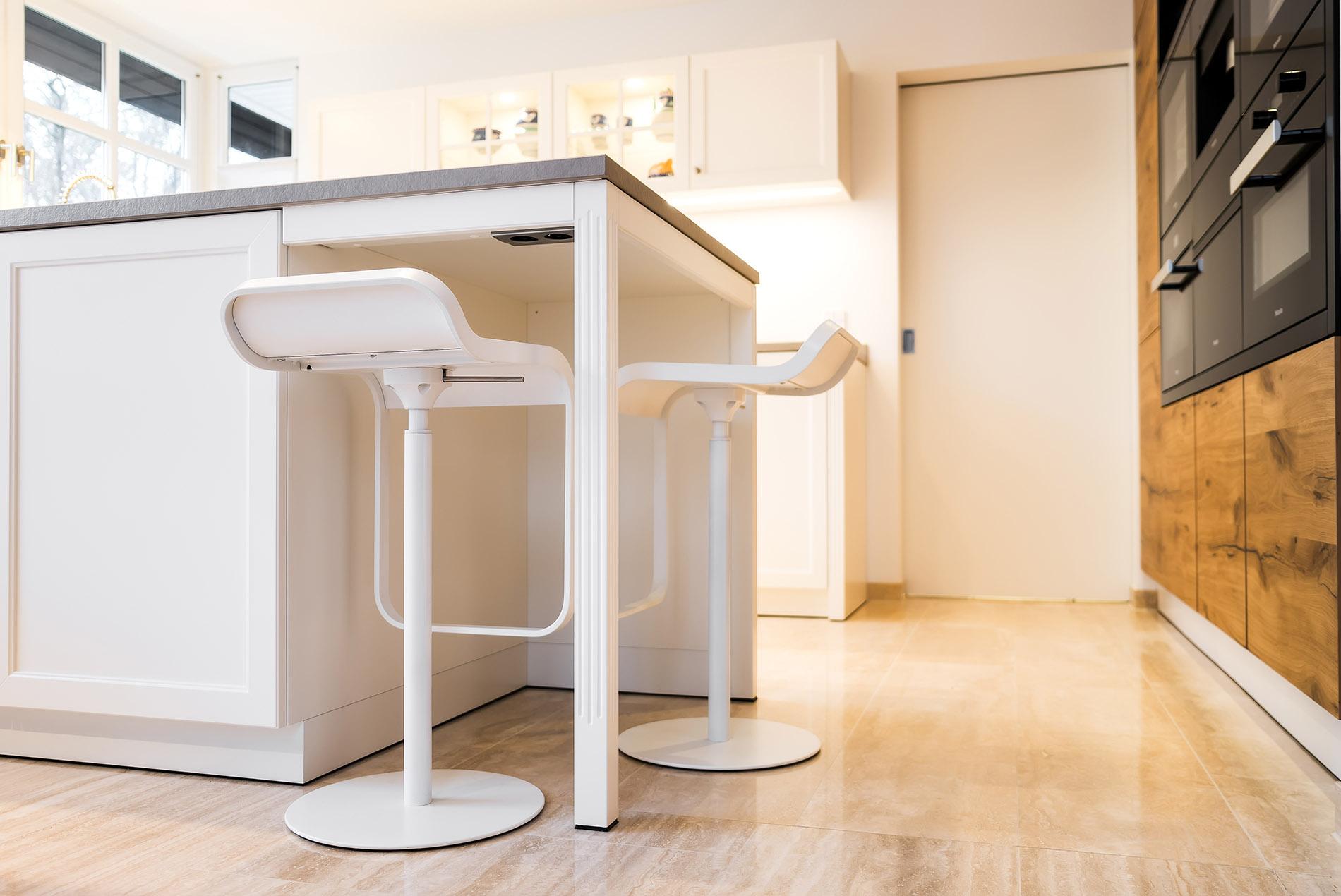 Moderne Landhauskuche Renovierung Einer Kuche Raumfabrik Munster
