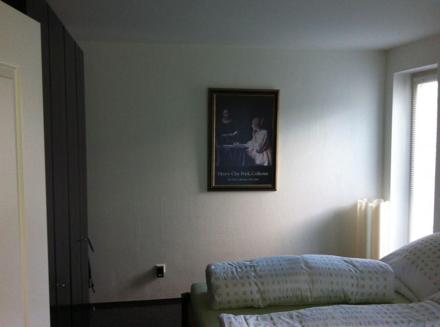 Umbau Schlafzimmer vorher